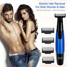 5 In 1 Electric Facial Hair Removalเครื่องกำจัดขนUSBชาร์จไม่เจ็บปวดFull Bodyเครื่องโกนหนวดผมผู้หญิงผู้ชายจมูกTrimmer 34