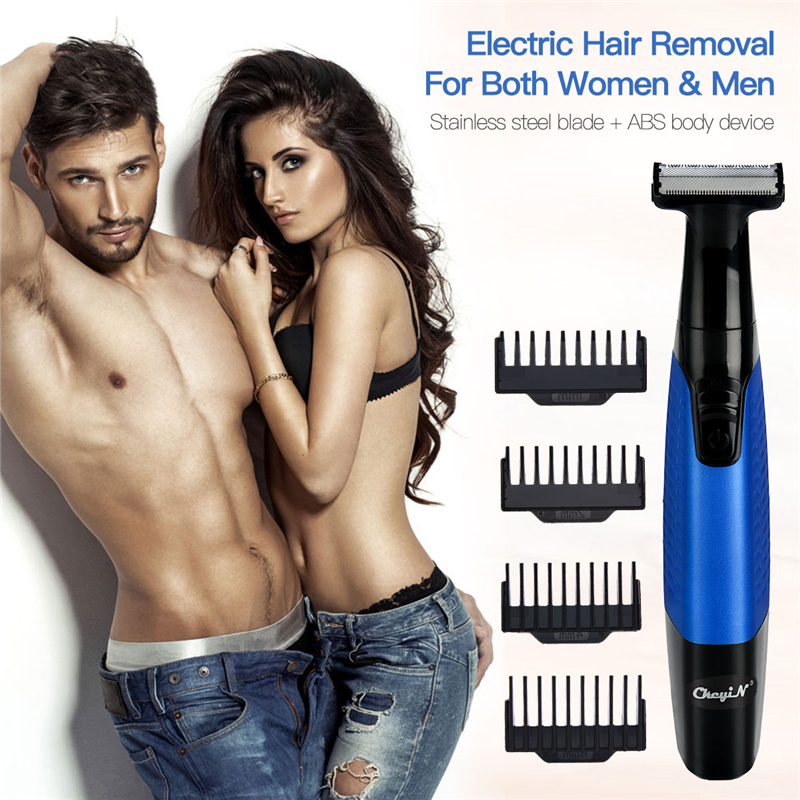 5 In 1 Electric Facial Hair Removal Epilators USB Rechargeable Painless Full Body Hair Shaver Women Men Eyebrow Nose Trimmer 35