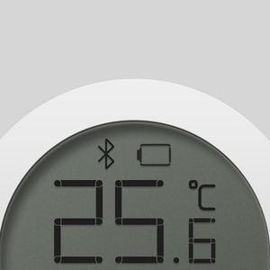 Image 4 - Xiao termómetro digital mi jia con pantalla LCD, Bluetooth, sensor de temperatura inteligente Hu mi dity hu mi, aplicación para hogares