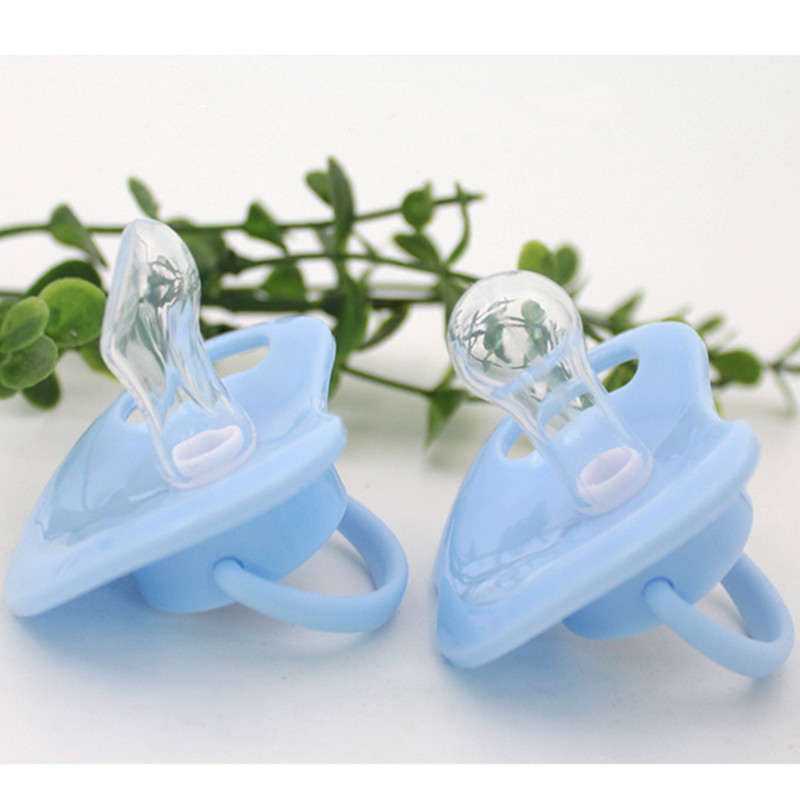 2pcs Silicone Mam Pacifier Baby Soother Infant Pacifier Silicone Nipple Animal Patterns Cute 6 - 18 Months Baby Pacifiers