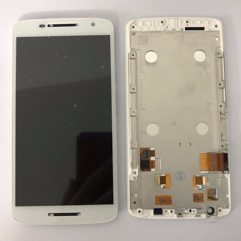 5.5 inch For Moto X Play X3 XT1561 XT1562 XT1563 LCD Display And Touch Screen Digitizer Assembly Black White
