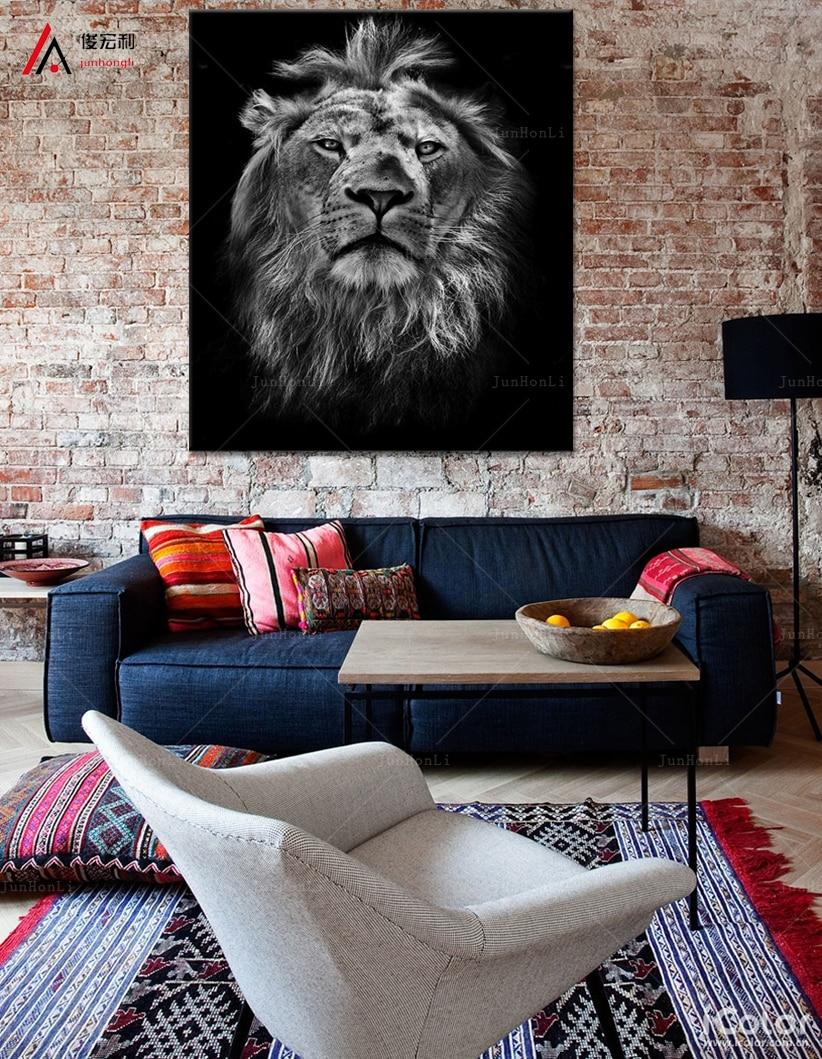 Online kopen Wholesale witte leeuw schilderen uit China witte ...