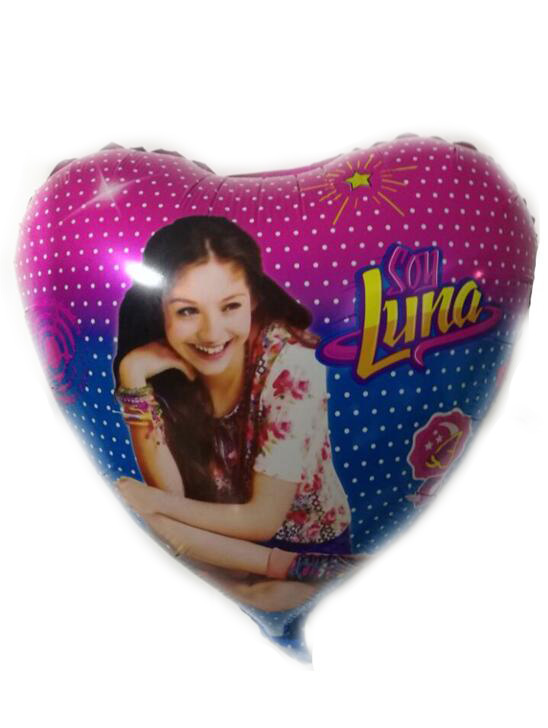 New 18 inch soy Luna aluminum film balloon wholesale childrens birthday party decorate b ...