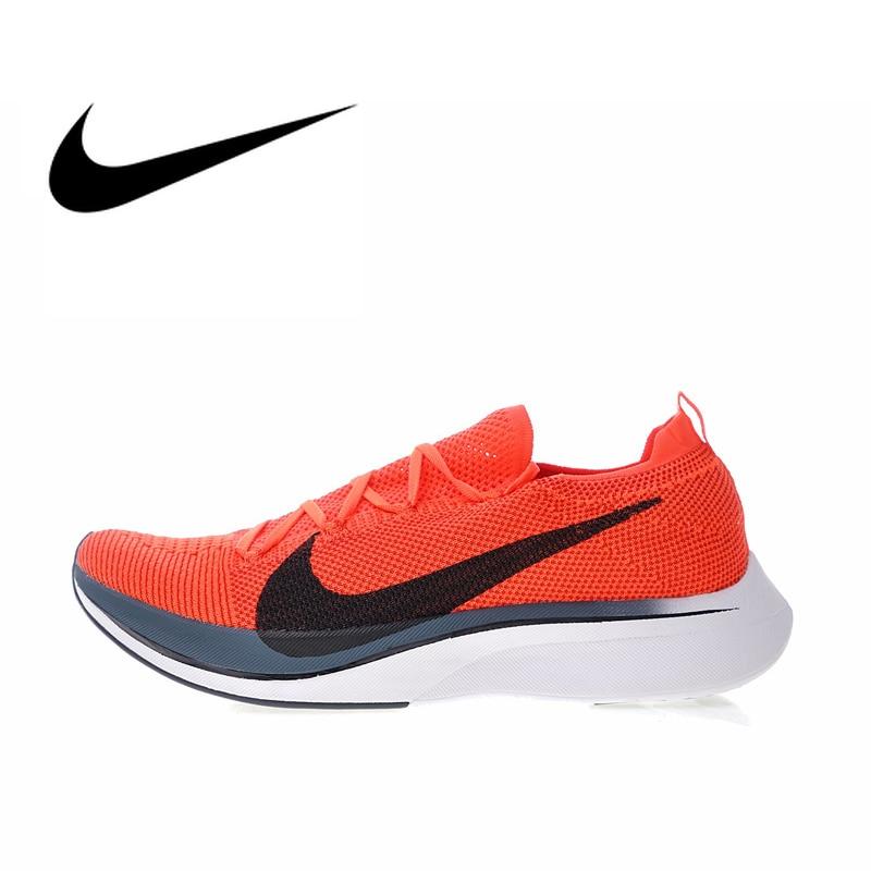 Nike Vaporfly Flyknit Chaussures de Course de 4% Hommes Sport En Plein Air Espadrilles de Sport Marque Designer Chaussures 2018 Nouveau Jogging Marche