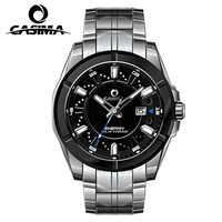 Relogio Masculino CASIMA Montre à Quartz militaire hommes énergie solaire Charge saphir Montre bracelet calendrier horloge hommes Saat Montre Homme