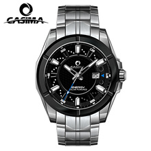 Relogio Masculino Casima Militaire Quartz Horloge Mannen Zonne energie Lading Sapphire Polshorloge Kalender Klok Mannen Saat Montre Homme