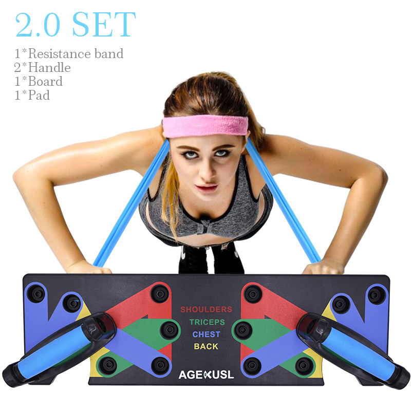 TWTOPSE 2.0 Push Up Board Rack System Men Women Home Gym Push-Ups Stands Sport Fitness Exercise Workout Body Building Training brompton stickers