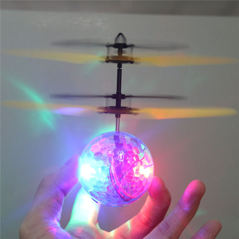 Chamsgend RC Toy EpochAir RC Flying Ball RC font b Drone b font Helicopter Ball Built