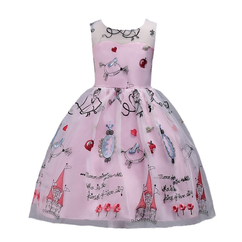 Dress For Girls 3 to 15 Years Wedding Party Dresses Flower Girls Princess Dress 10 to 12 Years Child Girl School Party Dress 14 flower girls blue wedding dresses for little girls dress evening party dresses summer teens big girl wedding dress 3 12 years