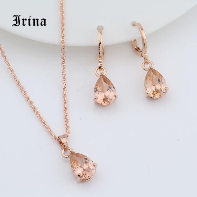 Irina 1Set Rose Gold Color...
