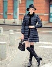 Free Shipping 2015 Winter Jacket Women's Fashion Bowknot Show Thin Long Skirt Cotton-padded Jacket Overcoat