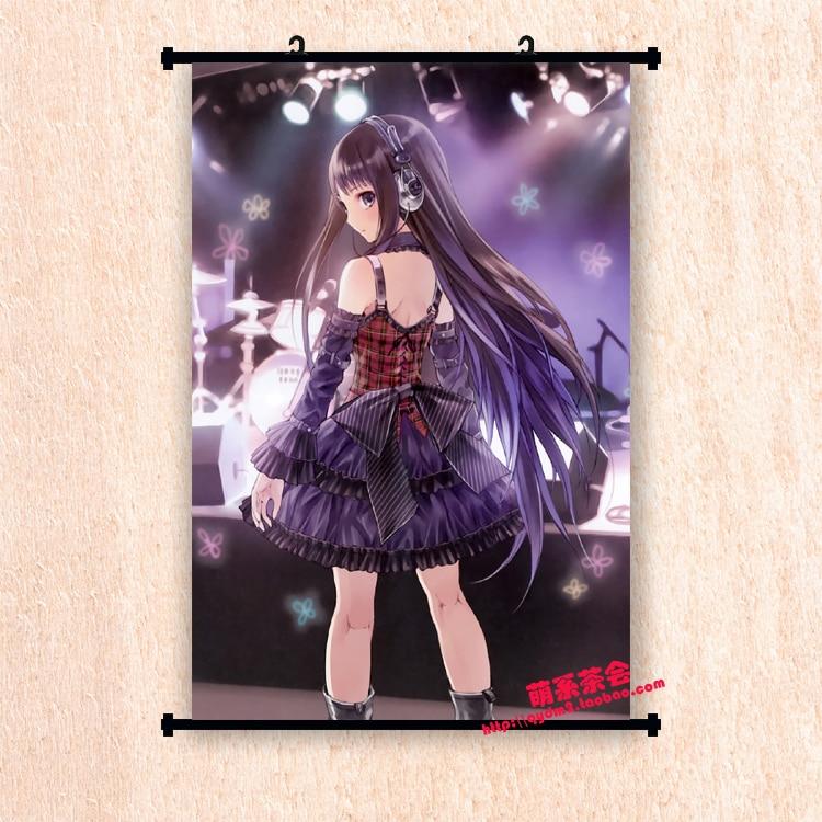 Japanese Anime Heavens Memo Pad Kami-sama no Memo-cho Shionji Yuuko Home Decor Wall Scroll Poster Decorative Picture(China)
