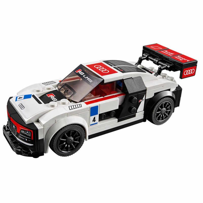 Фото 183 шт. Audi по форме спортивного автомобиля R8 F1 Гоночный комплект строительных