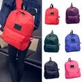New Fashion Women Men Waterproof Nylon Backpack School Bag Travel  Bagpack   BS88