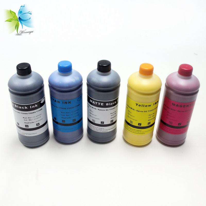 Winnerjet WaterProof Pigment ink for Epson T3200 T5200 T7200 T3270 T5270 T7270 printer-1000ml/bottleWinnerjet WaterProof Pigment ink for Epson T3200 T5200 T7200 T3270 T5270 T7270 printer-1000ml/bottle