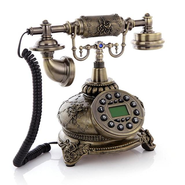Antieke Ouderwetse Huishoudelijke Antieke Telefoon Mode Telefoon