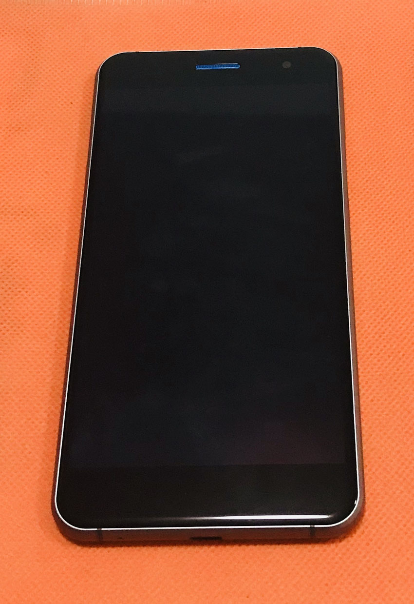 Used Original LCD Display Digitizer Touch Screen Glass Frame for ramos Mos1 Free shipping