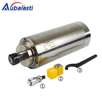 4.5KW Spindle CNC Router Spindle Motor 220 380V 8A Machine Tool Spindle ER25 Diameter 125mm For CNC Milling Router Machines - DISCOUNT ITEM  17% OFF All Category