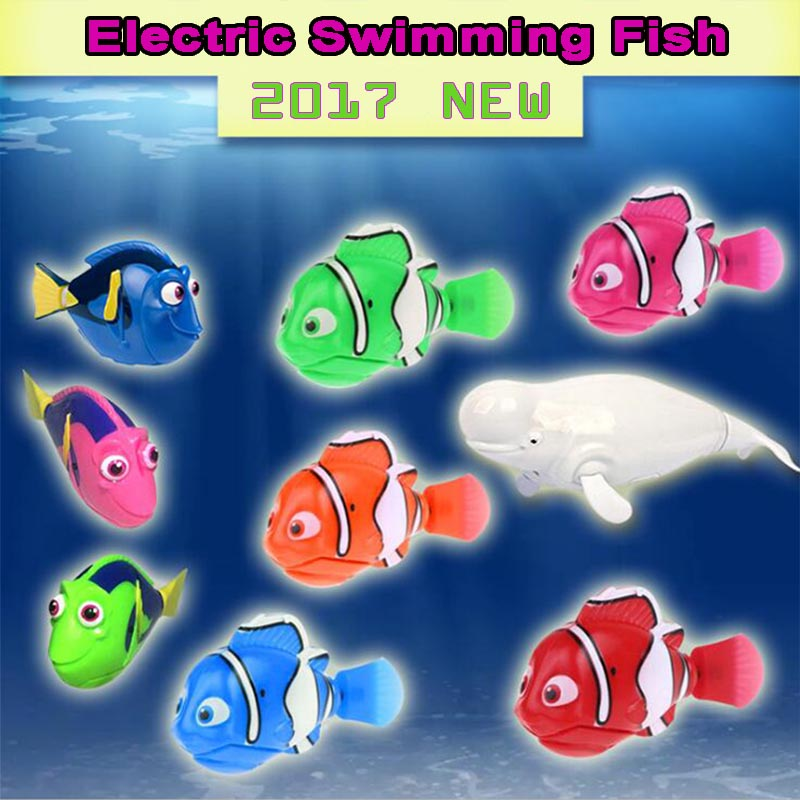 2017 new funny swimming electronic robofish activated for Robo fish tank