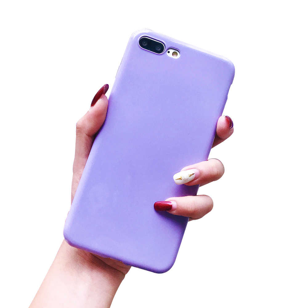 Ascromy Für iPhone 7 plus Fall Für Mädchen Silikon Rosa Shock Proof Abdeckung Für Apple iPhone 7 Plus 8 6 6 s X Frauen Telefon Zubehör