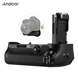 Image 1 - Andoer BG 1W قبضة بطارية عمودي حامل استبدال قبضة بطارية حامل ل BG E20 لكانون EOS 5D مارك IV DSLR كاميرا