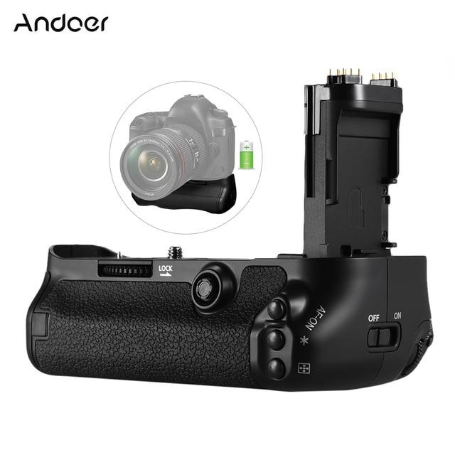 Andoer BG 1W垂直バッテリーグリップホルダー交換用バッテリーキヤノンeos 5D BG E20マークiv用一眼レフカメラ