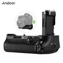 Andoer BG 1W suporte de aperto da bateria de substituição titular vertical para BG E20 para canon eos 5d mark iv dslr câmera