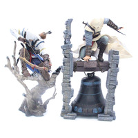 Game Character Altair Legendary Bell & Hunter Connor Action Figure Collectible Model Toys Gifts 26cm