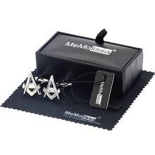 MeMolissa дисплей коробка запонки Классическая буква а запонки масонские запонки движение запонки Abotoadura бирка и салфетка