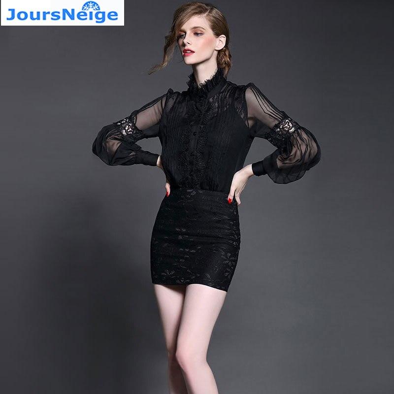 Nuevo de Las Mujeres de Satén de Seda Camisa de La Blusa de Moda Casual Lintern