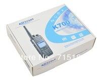 Kirisun K700 VHF 136 174MHz DPMR Digital Portable Two way Radio 10km walkie talkie Kirisun CB Ham Radio