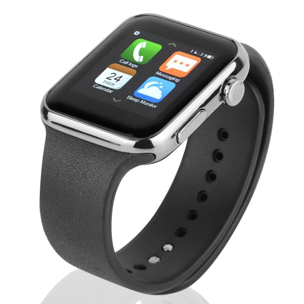 Smartwatch bluetooth smart watch reloj para apple iphone ios android teléfono in