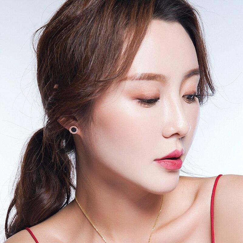 Top Kualitas Elegan Dan Menawan Shell Putih Dan Akrilik Hitam Angka - Perhiasan fashion - Foto 6