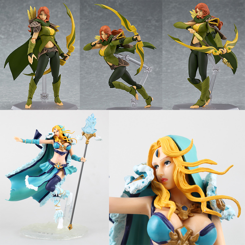 Dota 2 Windranger Figma WR Crystal Maiden GIRL Mutsu Miyuki naruto sasuke PVC harley quinn action Figure Collectible Model toy wearable penis sleeve extender reusable condoms sex shop cockring penis ring cock ring adult sex toys for men for couple
