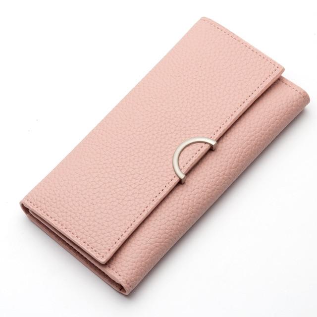 50cd35c959c9 Top Brand Baellerry New Arrival Soft Leather Women's Wallet Card Holder  Fashion Designer Candy Color Purse Female Original Bag