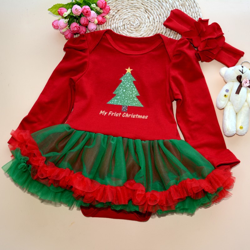 Aliexpress Com Buy Christmas Dress Girls Personality Flower Baby