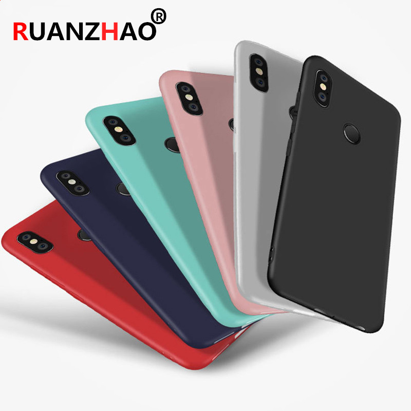 360 Degree Full Cover Tpu Phone Cases For Xiaomi Mi 8 Se 5x 6x Redmi Note 4 4x 5 Pro Silicon Case On Redmi 6 6a Pro 4x 5a 5 Plus Clothing, Shoes & Accessories