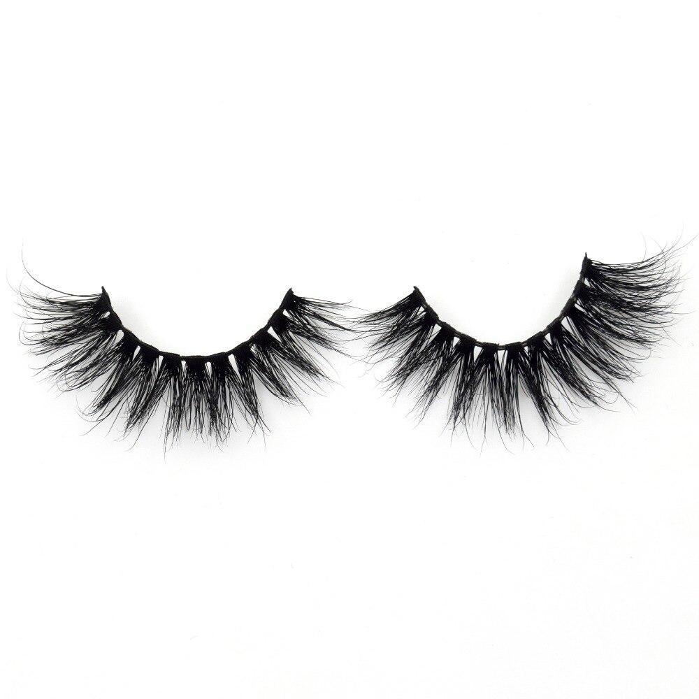 Visofree Mink Eyelashes 3D Mink Lashes Handmade Full Strip Lashes Medium Volume False Eyelashes Makeup Eye Lashes D115