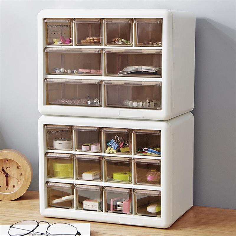 Criativo combinable gaveta organizador caixa de armazenamento superimponente gaveta gabinete desktop artigos diversos maquiagem organizador caixa