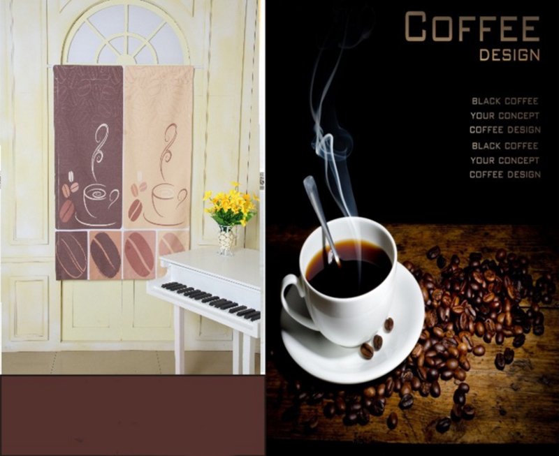 Online Shop 2016 New Arrival Modern Cafe Kitchen Curtains Styles Coffee  Bean Design Kitchen Half Curtain Short Panels Rod Pocket | Aliexpress Mobile Part 91