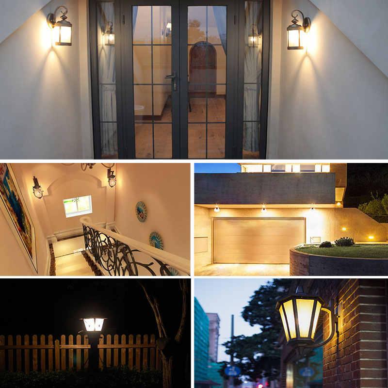 LED PIR Sensor Bulb E27 15W AC 220V 110V Dusk To Dawn Light Bulb Day Night Light Motion Sensor Lamp For Home Garage Lighting