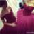 2017 Última Moda de Tulle Del Amor Del Cordón de la Tapa de Borgoña Prom Vestidos Corsé Sexy vestido de Bola Vestidos de Quinceañera por encargo