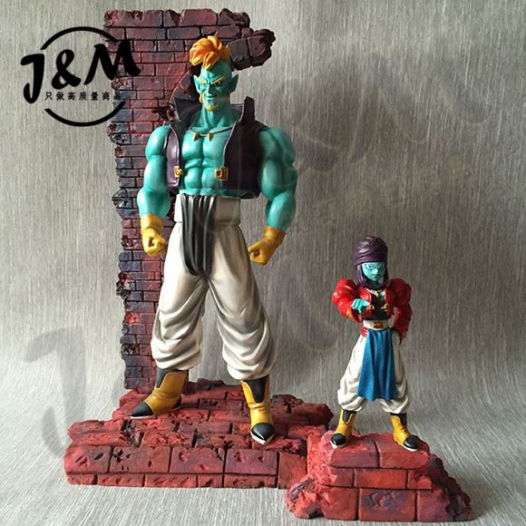 MODEL FANS JM Dragon Ball Z 30cm Bido and 17cm Bujin gk resin action figure toy for Collection chris wormell george and the dragon