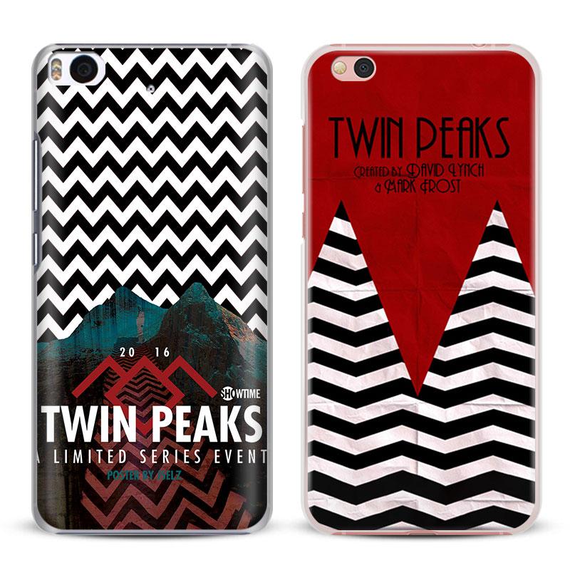 Twin Peaks Coque tv show Phone Case Shell Cover For Xiaomi Redmi Note 2 3 4 4X 5A 5 Pro Mi 4 5 5S Plus 5X 6 MiA1 Minote 2 3