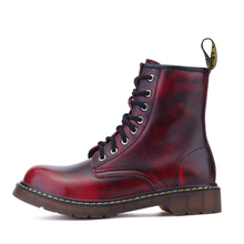 Snow Boots New England Style Dr 100% genuine leather Martin Boots Martin Shoes Men Brand Dr Designer Motorcycle Boots Size 35-45