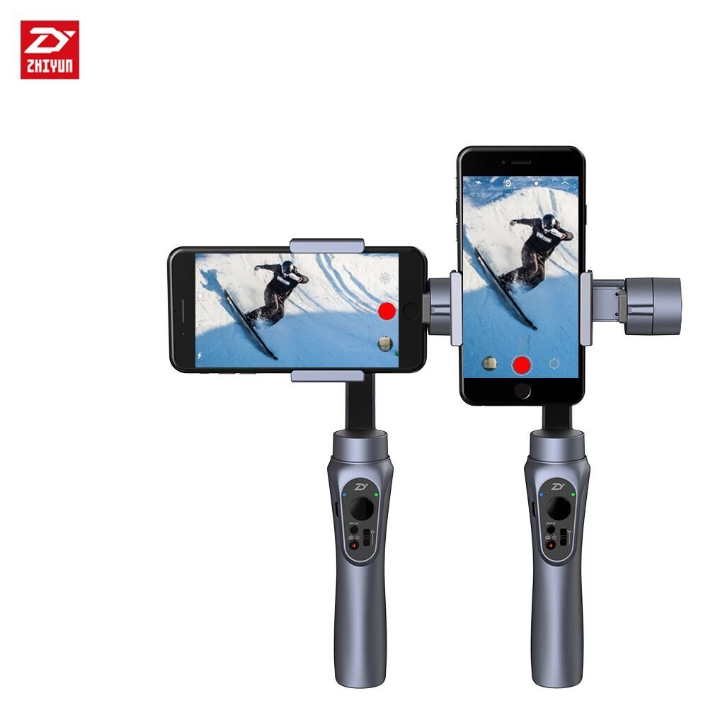 zhi yun Zhiyun Smooth Q 3-Axis Handheld Gimbal Stabilizer for iphone HUAWEI Sumsung Gopro цена 2017