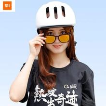 Original Xiaomi Qiji Cidade Lazer Capacete Pode Ajustável Para Equipamento de Equitação Ao Ar Livre