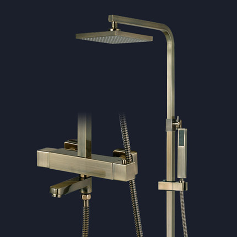Bathroom Shower Faucet with Lifting Rod 8\
