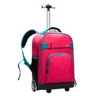 Letrend Öğrenci Seyahat Çantası Haddeleme Bagaj Sırt Çantası Erkekler Bavullar Tekerlek Büyük Kapasiteli Kadın İş Arabası Gövde Üzerinde Carry