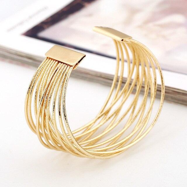 Купить lzhlq многослойные браслеты из проволочной сетки 2020 новые